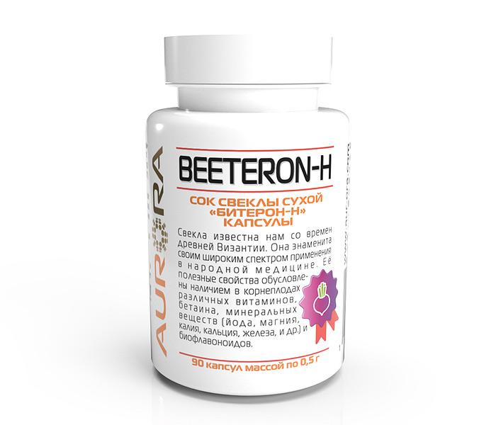 Битерон-Н (Beeteron-H) — оздоравливающий напиток на основе сухого концентрированного сока свёклы
